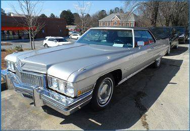 Used 1973 Cadillac Coupe Deville Parts Montreal Used