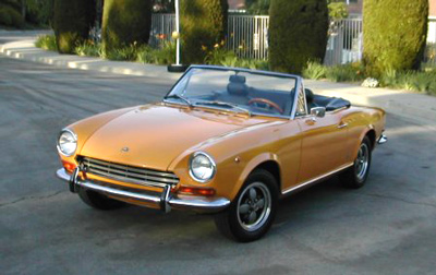 Used 1980 Fiat Spider 2000 Pininfarina Parts Montreal Used Fiat Parts Montreal Used Fiat Car Parts Montreal